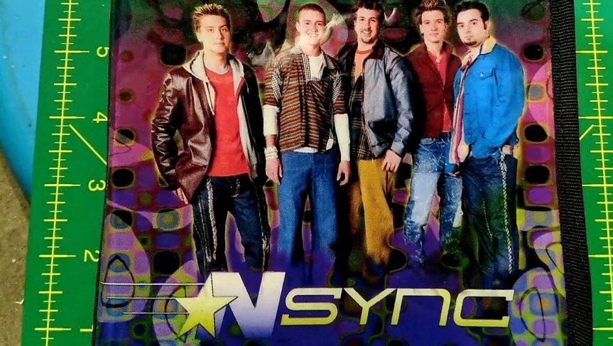 NSYNC CD CASE PLUS PINBUTTON