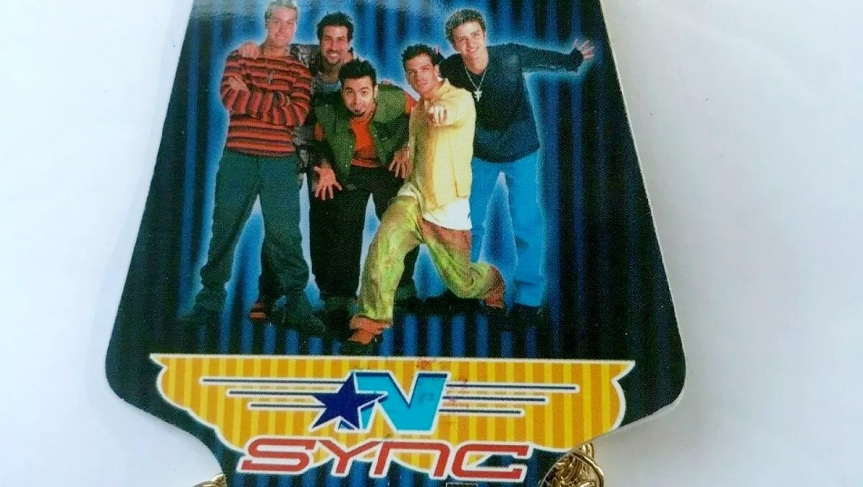NSYNC GOLD COLOR CHAINNECKLACE